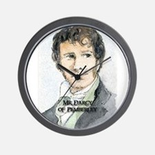 Mr Darcy Of Pemberley Wall Clock
