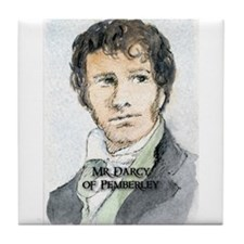 Mr Darcy Of Pemberley Tile Coaster