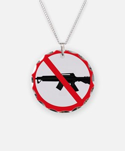 Ban Assault Weapons Necklace