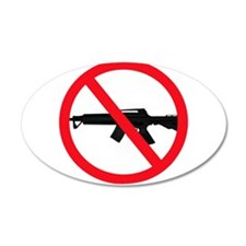 Ban Assault Weapons Wall Decal