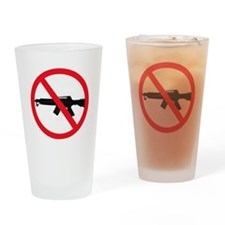 Ban Assault Weapons Drinking Glass