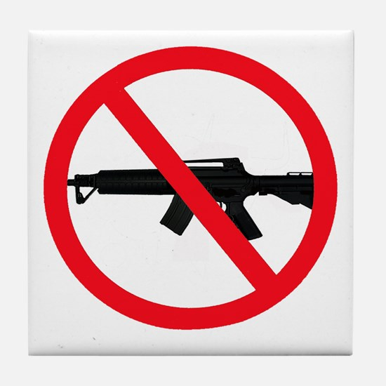 Ban Assault Weapons Tile Coaster