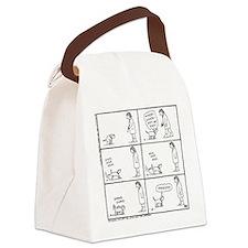 'Poo Fun' Canvas Lunch Bag