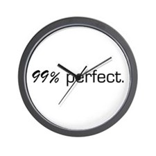 99% Perfect Wall Clock