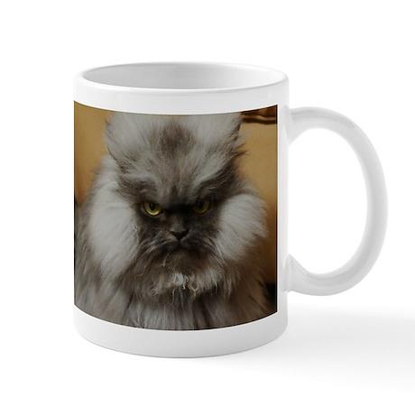Colonel Meow scowl face Mug