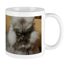 Colonel Meow scowl face Mug