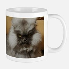Colonel Meow scowl face Small Small Mug