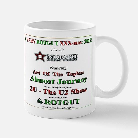 Official ROTGUT 2012 xxx-mas party commemorative M