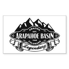 Arapahoe Basin Mountain Emblem Decal