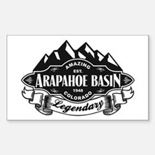 Arapahoe Basin Mountain Emblem Decal