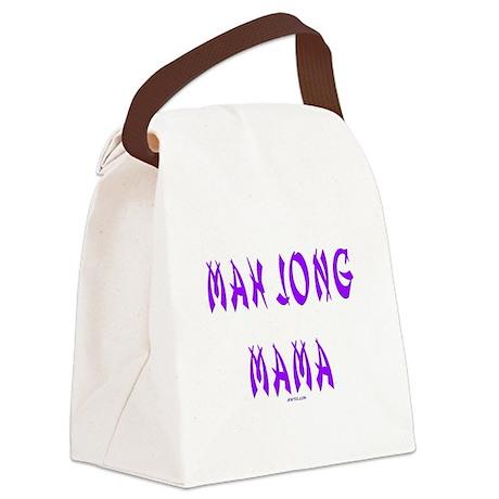 Mah Jong Mama Canvas Lunch Bag