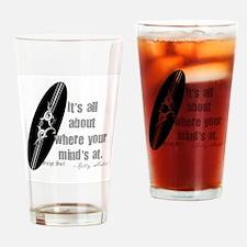 Cute Hang 10 Drinking Glass