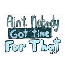 Nobody Got Time Postcards (Package of 8)