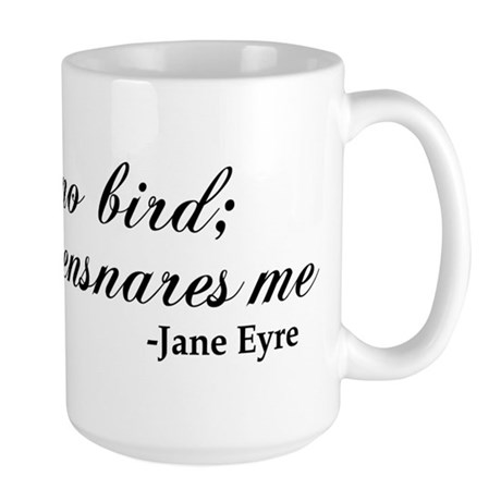 No Net Ensnares Me Large Mug