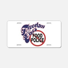 FreedomEats.png Aluminum License Plate