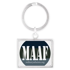 MAAF logo Landscape Keychain