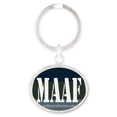 MAAF logo Oval Keychain