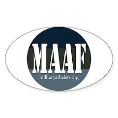 MAAF logo Decal