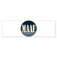 MAAF logo Bumper Sticker