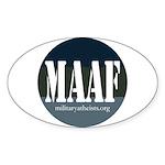 MAAF logo Sticker (Oval 10 pk)