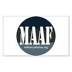MAAF logo Sticker (Rectangle 50 pk)