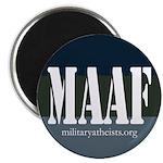 """MAAF logo 2.25"""" Magnet (100 pack)"""