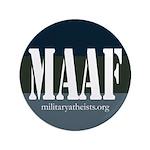 """MAAF logo 3.5"""" Button"""