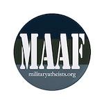 """MAAF logo 3.5"""" Button (100 pack)"""