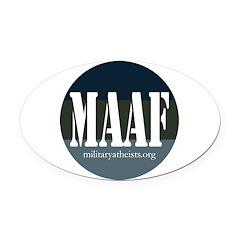 MAAF logo Oval Car Magnet