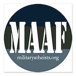 MAAF logo Square Car Magnet 3