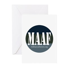 MAAF logo Greeting Cards (Pk of 10)