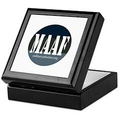 MAAF logo Keepsake Box