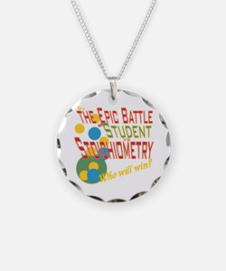 Cute Chemistry teacher Necklace