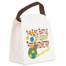 Cute Chemistry students Canvas Lunch Bag