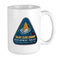 Startrek Galaxy Class Starship Project Mug