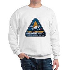 Startrek Galaxy Class Starship Project Sweatshirt