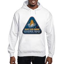 Startrek Galaxy Class Starship Project Jumper Hoody