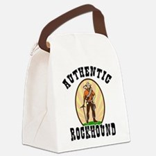 Authentic Rockhound Canvas Lunch Bag