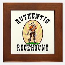 Authentic Rockhound Framed Tile