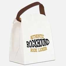 Rockhound Authentic Rock Licker Canvas Lunch Bag