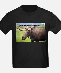 Wanna moose around? Alaskan moose T