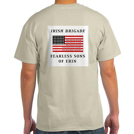 IRISH BRIGADE Ash Grey T-Shirt