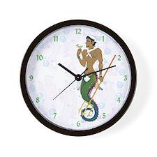 Seahorse Sailor Wall Clock