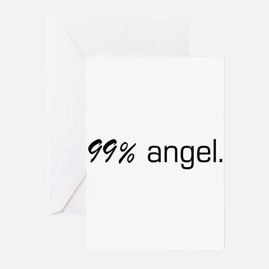 99% Angel Greeting Cards (Pk of 10)