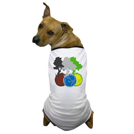 OYOOS Trees Earth design Dog T-Shirt