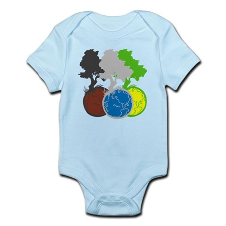OYOOS Trees Earth design Infant Bodysuit