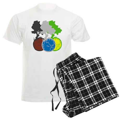 OYOOS Trees Earth design Men's Light Pajamas