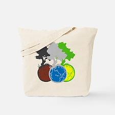 OYOOS Trees Earth design Tote Bag
