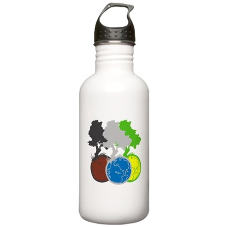 OYOOS Trees Earth design Stainless Water Bottle 1.
