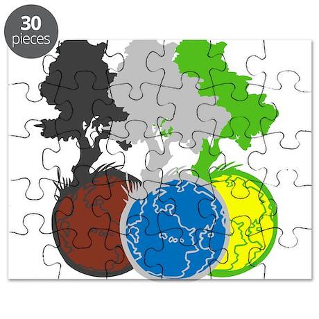 OYOOS Trees Earth design Puzzle